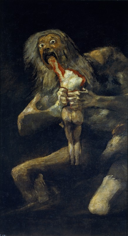 Francisco Goya: Saturn