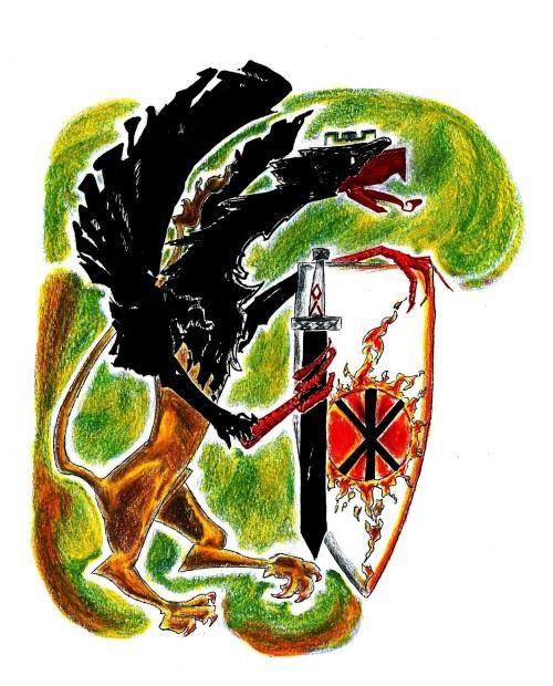 Gryf (nakreslil Aetius)