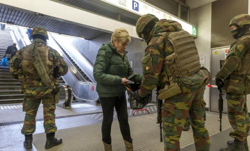 Kontrola v Bruselu