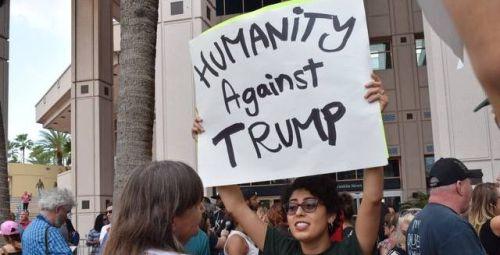 Protest proti Trumpovi